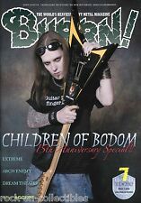 Burrn! Heavy Metal Magazine July 2012 Japan Children of Bodom Arch Enemy