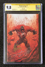 CGC SS 9.8 SS Donny Cates Ryan Stegman Virgin VARIANT 1:100 ABSOLUTE CARNAGE # 4