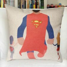 "Cushion Cover Superhero Gift Pillow Case Home Decor Kids Room 45cm(18"")"