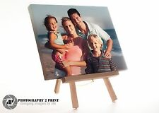 Personalised Own Custom Photo Canvas Print 10 x 8 inch With Artist Easel Stand