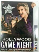 Hollywood Game Night Board Game New Factory Sealed