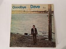 DAVID BAXTER GOODBYE DAVE RARE PROG VINYL LP