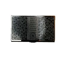Handicraft Oriental Stainless Steel Id Card Holder Name Card Business Card Case
