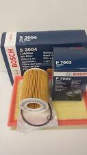 BMW E39 520i 523i 525i 528i 530i Oil Air Filter 1996-2004 Bosch Service Kit