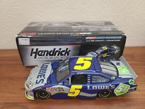 2011 #5 Jimmie Johnson Lowe's 5% Off All-Star COT 1/24 Action NASCAR Diecast