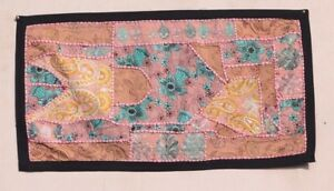 Wall Hanging Handmade Vintage Tapestry Embroidery Patchwork Decorative PV-90