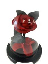 Preserved Eternal RED ROSE In Glass Dome Great Gift!