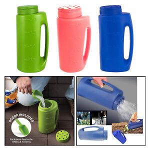 Hand Held Portable Fertilizer Spreader Planting Seeding Bottle Watering Can