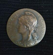 Médaille Bronze Marey Concours de Tir 1903  勳章 French Medal
