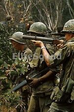 Vietnam War Photo US Soldier with M-79 grenade launcher aka (the blooper) 557