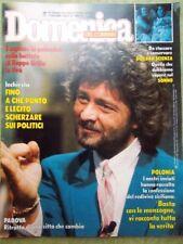 La Domenica del Corriere 29 Novembre 1986 Beppe Grillo Weaver Aliens Cipriani Tv