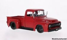 Ford f-100 pick up rouge 1956 1:24 Jada