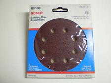 "Bosch Rs500 Sanding Discs 5"" Assorted Grit 60,80,120,240,320 1ea (5 Pieces)"