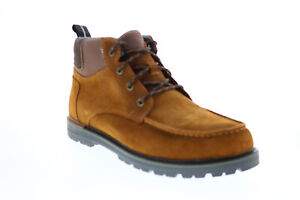 Toms Hawthorne 10014350 Mens Brown Suede Lace Up Casual Dress Boots