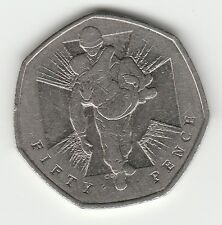 V C Heroes 2006  FIFTY PENCE part of coin hunt