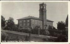 Pullman WA WSC State College Bryan Hall c1915 Real Photo Postcard dcn