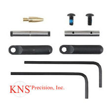 KNS Precision Gen 2 .154 Non-Rotating Anti-Walk Pins with Black Side Plates