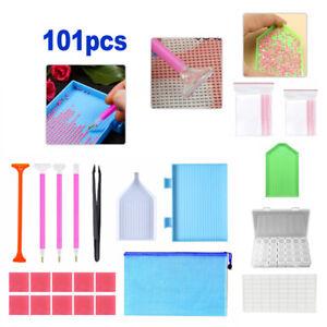101 Multi 5D Diamond Embroidery Painting Art Tools Kit Cross Stitch Accessories