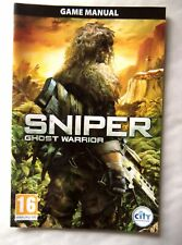 61891 Instruction Booklet - Sniper Ghost Warrior - PC (2010)