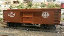 Bachmann HO Central Pacific Old Time Wild west Boxcar, Exc