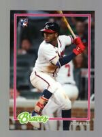 2018 TOPPS ON DEMAND 1978 DESIGN OZZIE ALBIES RC #29 BRAVES PRINT RUN 2,040