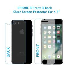 "Front and Back LCD Screen Protector Guard for Apple iPhone 8 for 4.7"" Screen"
