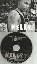 NELLY Country Grammar 3TRX w/ 2 CLEAN TRX w/ MUTES & EFFECTS PROMO DJ CD Single
