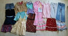 Lot of 18 girls clothes 6 6X 7 small S O'neill/Gap/Disney/Chaps/Children's Place