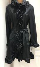 Fabulous Joseph Ribkoff Black Coat. NWT. £329. Size U.K. 12.