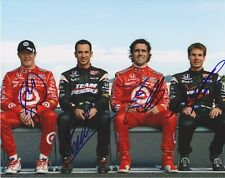 Indianapolis 500 Winners DIXON CASTRONEVES FRANCHITTI POWER Signed 8 X 10 Photo