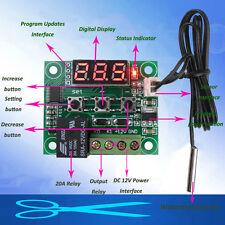 Dc 12v Termostato Interruptor control temperatura Termómetro Impermeable Sensor