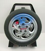 Mattel Hot Wheels Tire Shaped Storage Carrying Case Tara Toy Corp