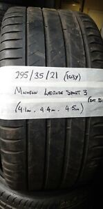 295 35 21 (103Y) Michelin Latitude Sport  3 Part Worn tyre