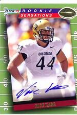 nick kasa rc rookie draft auto autograph colorado buffaloes cu college 2013