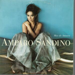 AMPARO SANDINO MAR DE AMORES CD SINGLE PROMO
