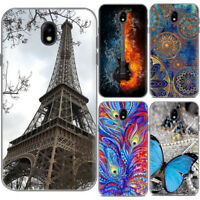 For Samsung Galaxy J3 J5 J7 Pro Painted Soft Silicone TPU Rubber Gel Case Cover