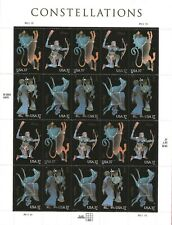 Scott #3945-48 Constellations Postage Stamp Sheet of 20-37 cent Stamps
