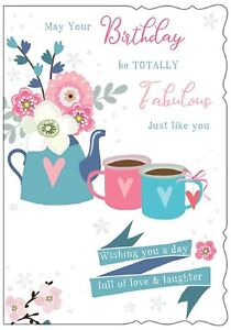 May Your Birthday Be Totally Fabulous Just Like You. Card For Female