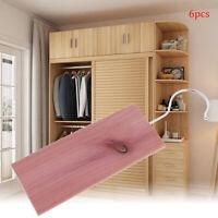 6pcs/lot Cedar Wood Moth Repellent Air Freshener for Wardrobes Clo TBO