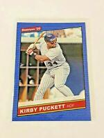 2020 Panini Donruss Baseball '86 Retro - Kirby Puckett - Minnesota Twins