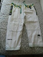 Venum Competitor Brazilian Jiu-Jitsu white Gi A2 pants Quality Heavyweight Bjj