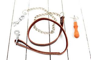 Leather Dog Leash, Hand Made Professional Dog Lead, Pet Leash,