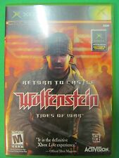 XBOX Return To Castle Wolfenstein Game With Manual. NTSC Live Online Enabled