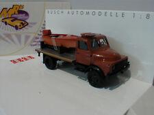 Busch 50813 # Hanomag AL 28 MKW mit Pritsche und Boot in braun 1:87 NEU
