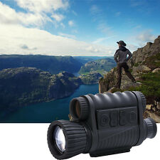 6x50 Infrared Night Vision Monocular Hunting Camping Hiking Telescope 350M DVR D