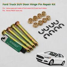 For Ford F150 F250 F350 Bronco Door Hinge Pins Pin Bushing Kit TWO DOOR KIT AU