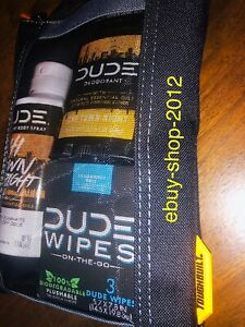 DUDE WIPES DW TOUGHBUILT Mini COMBO BAG NEW! Happy Father's Day!🚨
