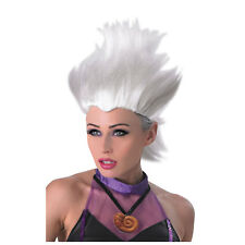 Adults Disney Ursula The Little Mermaid Womens Fancy Dress Costume Wig 36577