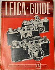 LEICA GUIDE PAUL MONTEL 1925 à 1949 MONTURE M 39
