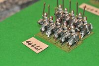 25mm roman era / late roman - cataphracts 10 figures - cavelry (44461)